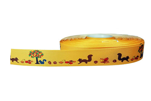 25mm Wide Squirrels Martingale Collar