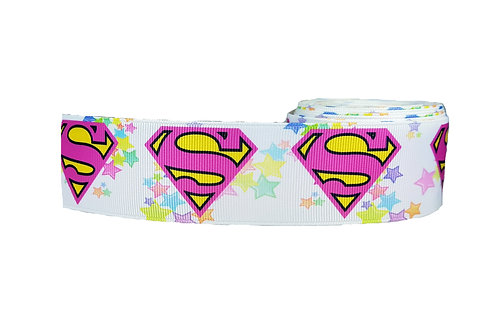 38mm Wide Supergirl Martingale Collar