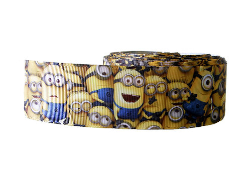 38mm Wide Minions Overload Dog Collar