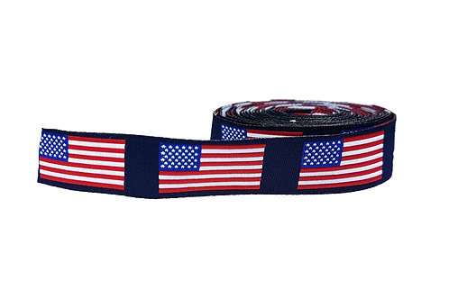19mm Wide American Flag Collar