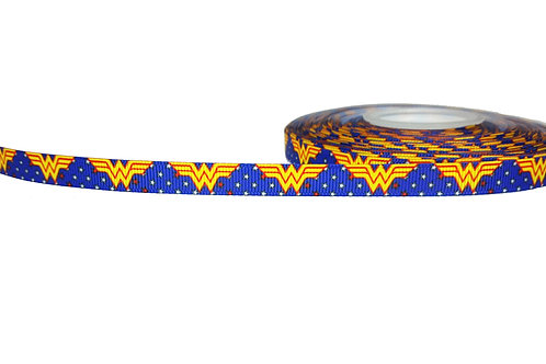 12.7mm Wide Wonder Woman (Blue) Double Ended Lead
