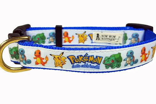 19mm Wide Pokemon Collar