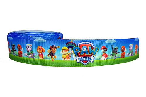 25mm Wide Paw Patrol Double Ended Lead