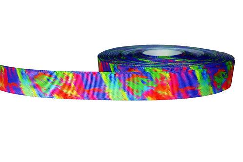 25mm Wide Tie Dye Lead