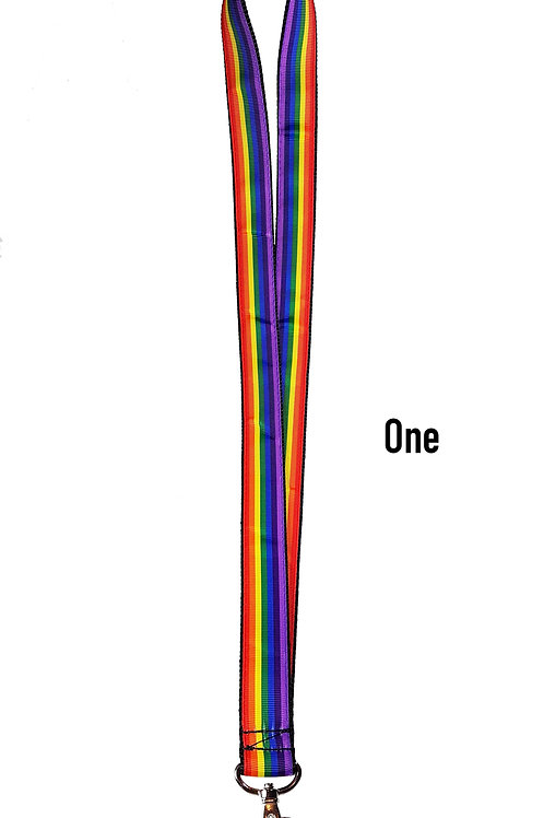 Rainbow Lanyard Standard - 3 Designs