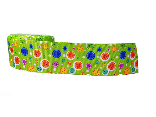 38mm Wide Buttons Martingale Collar
