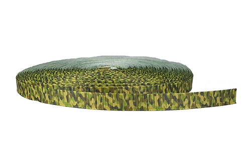 12.7mm Wide Green Camo Lead