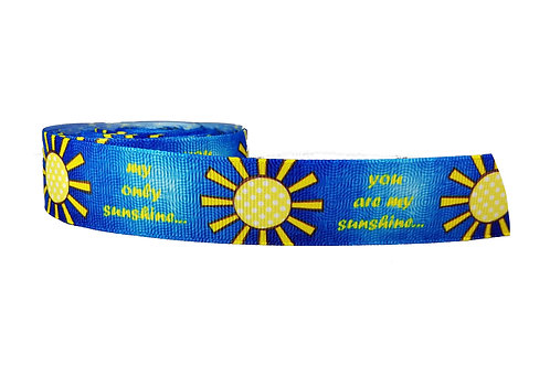 25mm Wide Sunshine Martingale Collar