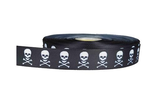 25mm Wide Skull & Crossbones Lead