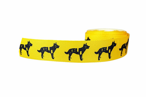 25mm Wide Kelpie Martingale Collar