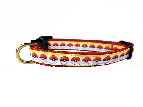 12.7mm Wide Pokeball Collar