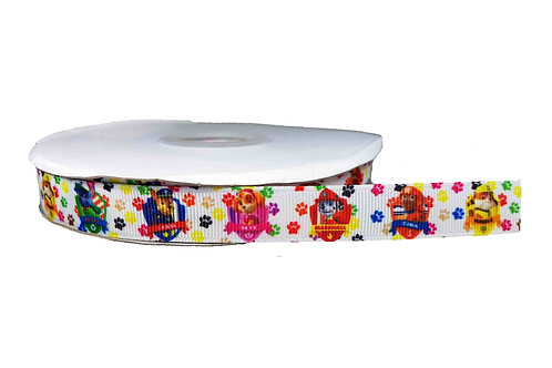 19mm Wide Paw Patrol Martingale Collar