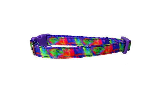 Tie Dye Cat Collar