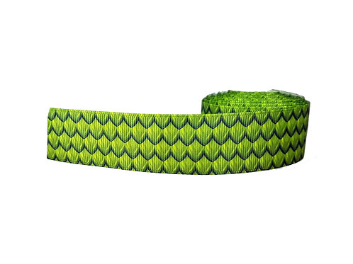 25mm Wide Dragon Scales Martingale Collar