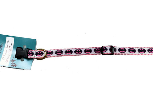 12.7mm Wide Batgirl Dog Collar