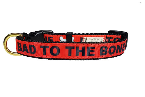 19mm Wide Bad to the Bone Collar