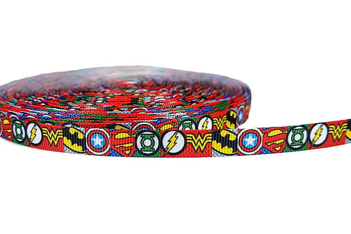 12.7mm Wide Super Hero Icons Lead
