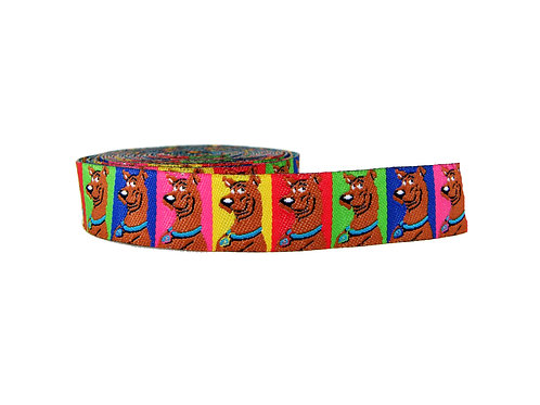 19mm Wide Scooby Doo Martingale Collar