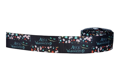 25mm Wide Alice in Wonderland Double Ended Lead