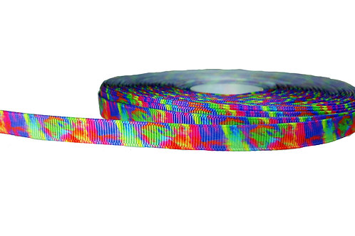 12.7mm Wide Tie Dye Double Ended Lead