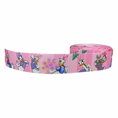 25mm Wide Daisy Duck Double Ended Lead