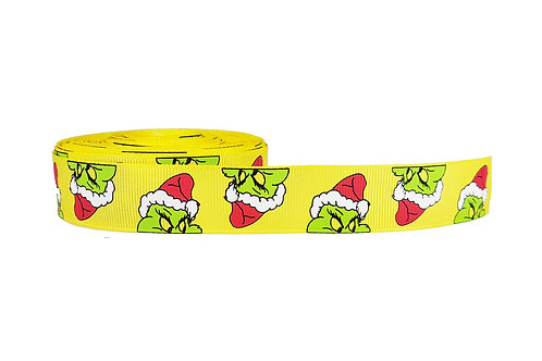 25mm Wide The Grinch Martingale Collar