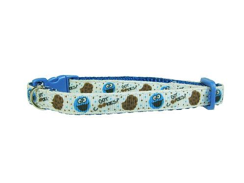 Cookie Monster Cat Collar