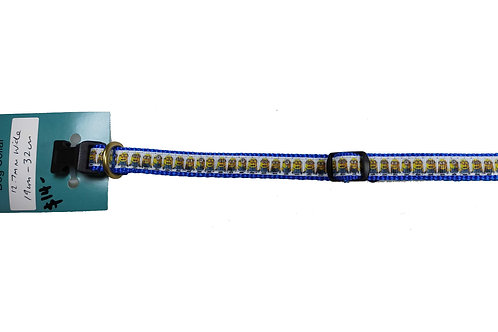 12.7mm Wide Minions Dog Collar