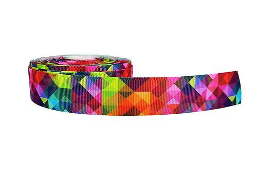 25mm Wide Kaleidoscope Martingale Collar
