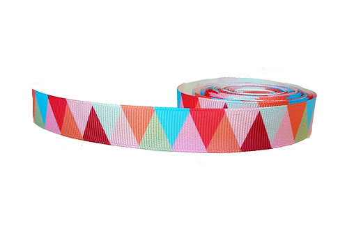 19mm Wide Pink Triangle Collar