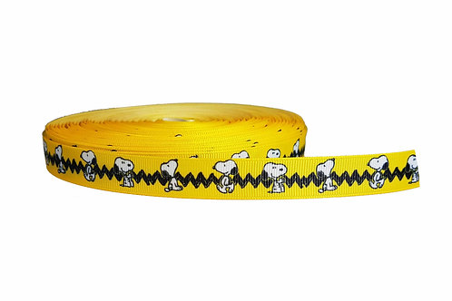 19mm Wide Snoopy Martingale Collar