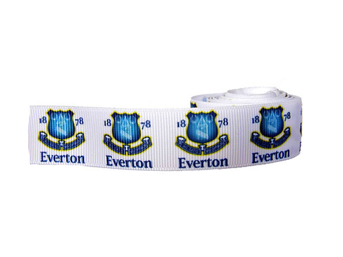 25mm Wide Everton FC Dog Collar