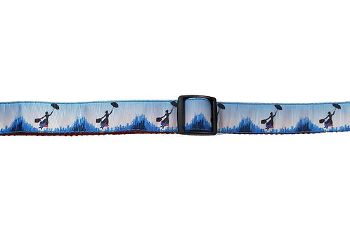 25mm Wide Mary Poppins Dog Collar