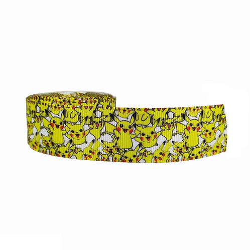 25mm Wide Pikachu Dog Collar
