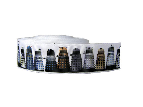 25mm Wide Dr Who Dalek Martingale Collar