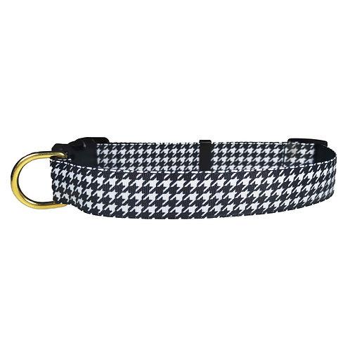 25mm Wide Houndstooth Dog Collar