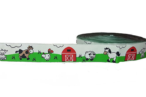25mm Wide Farm Yard Double Ended Lead