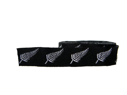 19mm Wide Silver Fern Martingale Collar