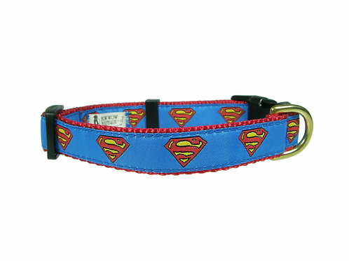19mm Wide Superman Collar