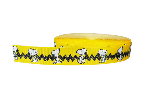 25mm Wide Snoopy Charlie Brown Dog Collar