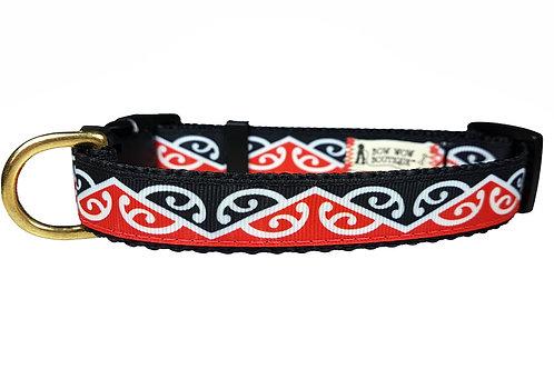 19mm Wide Maori Kowhaiwhai Collar
