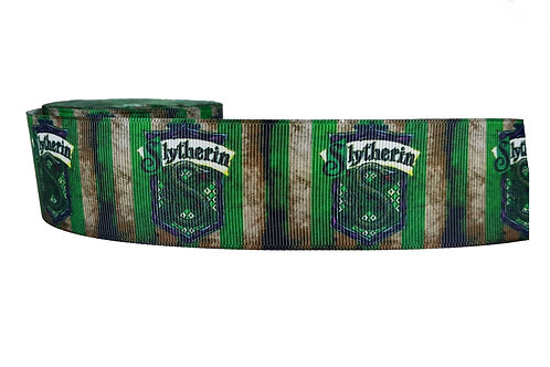 38mm Wide Slytherin Martingale Collar