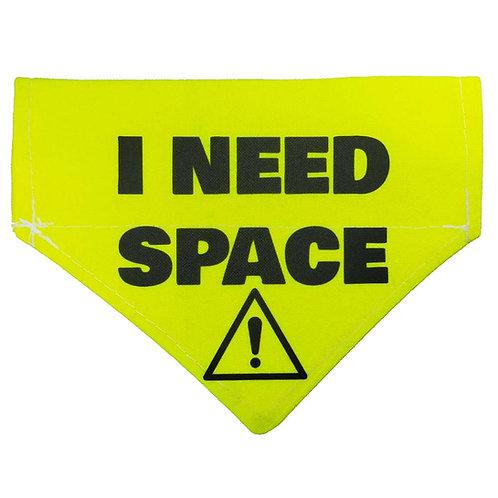 Medium I NEED SPACE Bandana