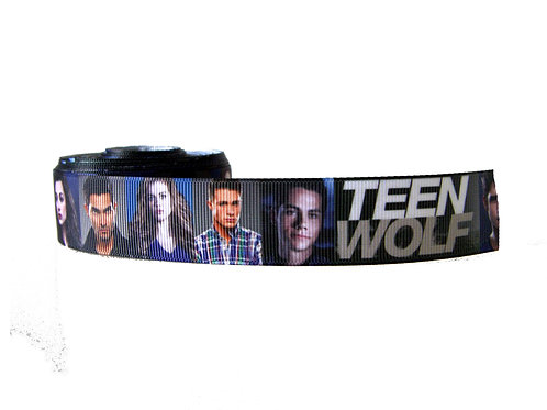 25mm Wide Teen Wolf Dog Collar