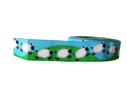 25mm Wide Sheep Double Ended Lead