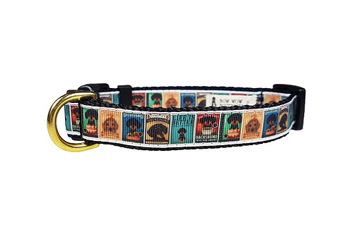 19mm Wide Dachshund Posters Collar