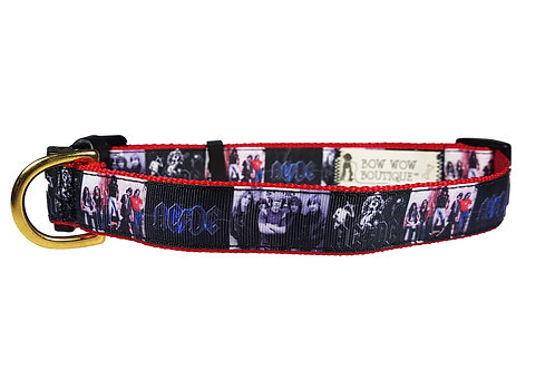25mm Wide ACDC Dog Collar