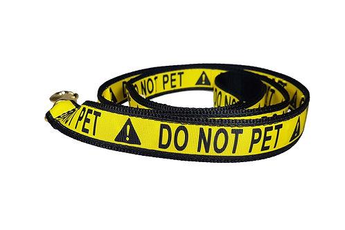 25mm Wide Do NOT Pet Lead
