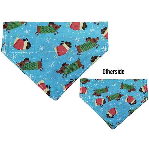 Small Christmas Dogs Bandana