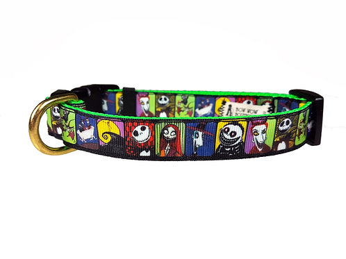 19mm Wide Nightmare Before Christmas Collar